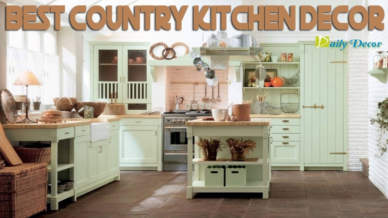 Country Kitchen Wall Decor Ideas Awesome [daily Decor] Country Kitchen Decor
