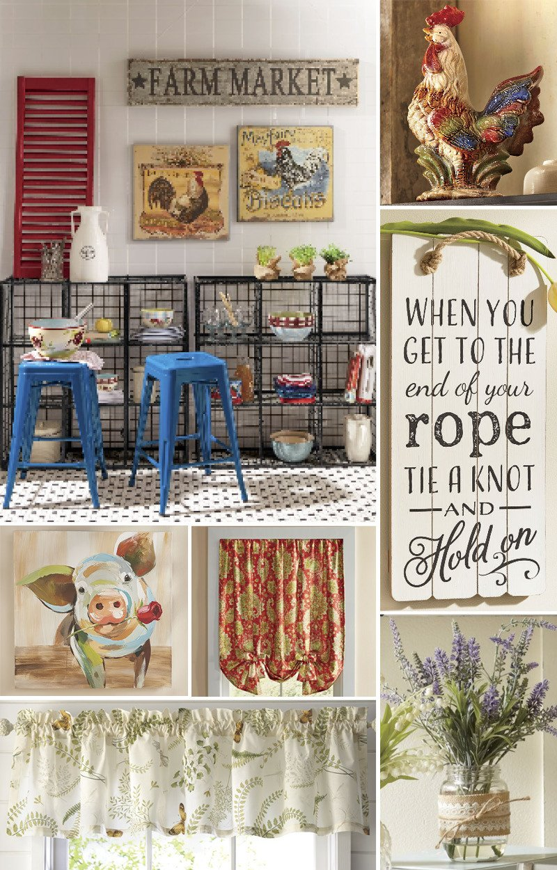 Country Kitchen Wall Decor Ideas Best Of Decorating Ideas to Create A Cozy Country Kitchen