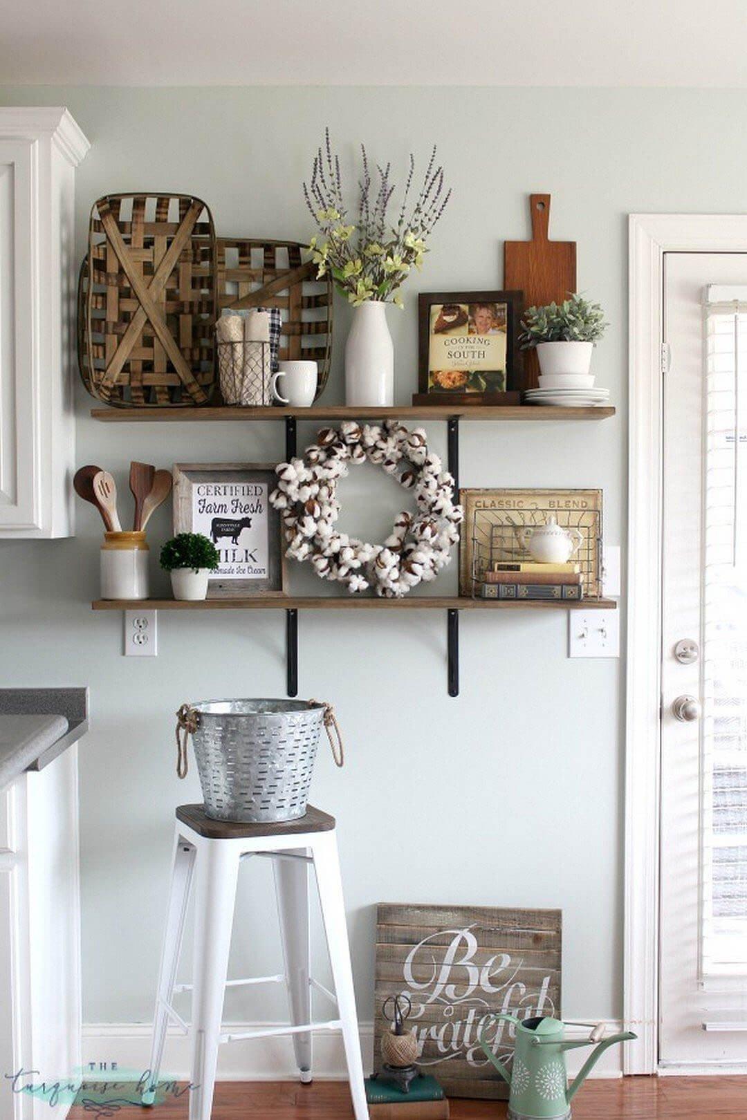 Country Kitchen Wall Decor Ideas Luxury 36 Best Kitchen Wall Decor Ideas and Designs for 2019