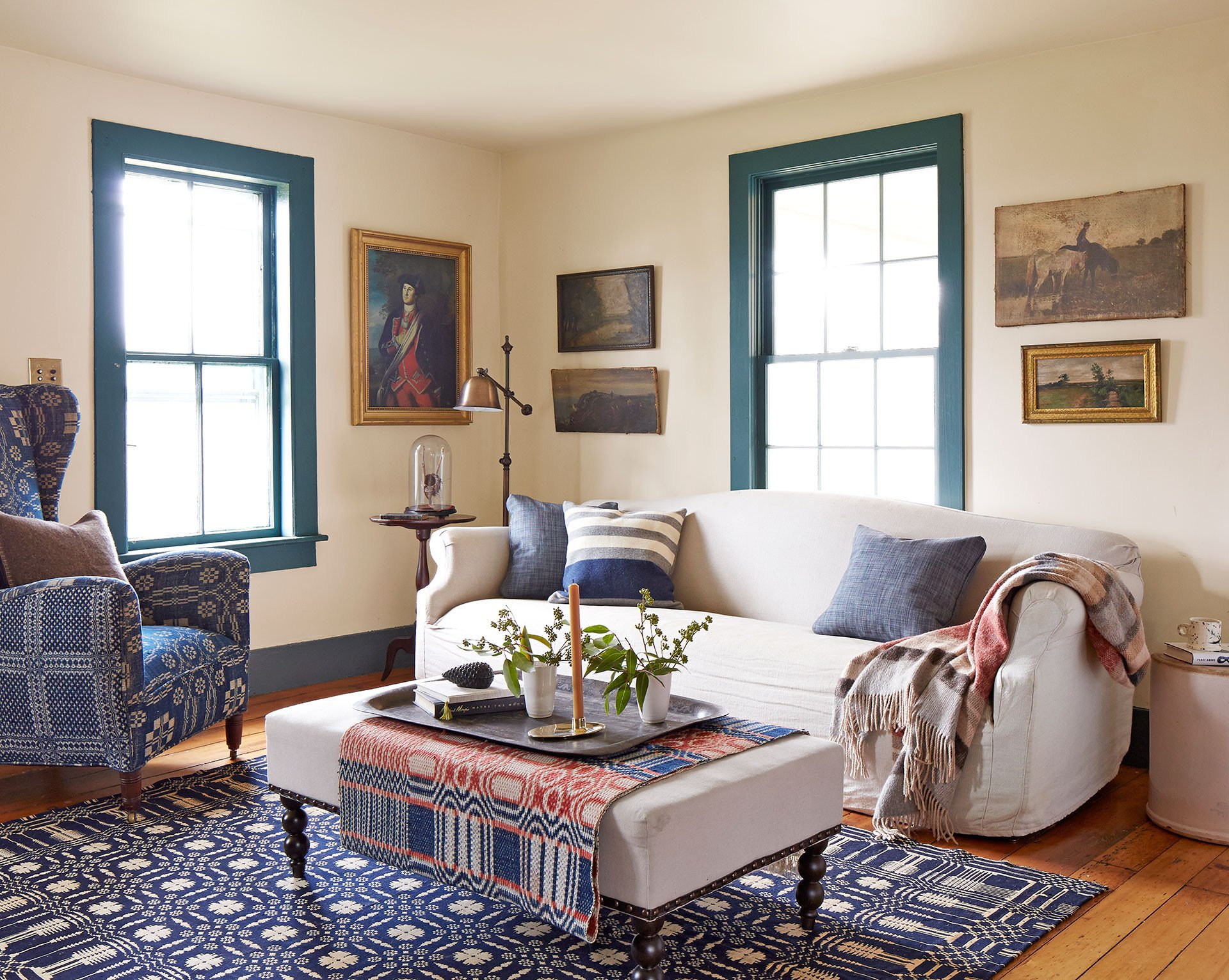 Country Living Room Decorating Ideas Beautiful Patriotic Decor 4th Of July Red White and Blue Decorating Ideas