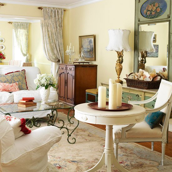 Country Living Room Decorating Ideas New 2013 Country Living Room Decorating Ideas From Bhg