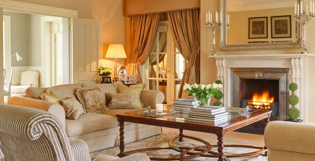 Country Traditional Living Room Beautiful Country House Ireland Traditional Living Room Dublin by Helen Turkington Design