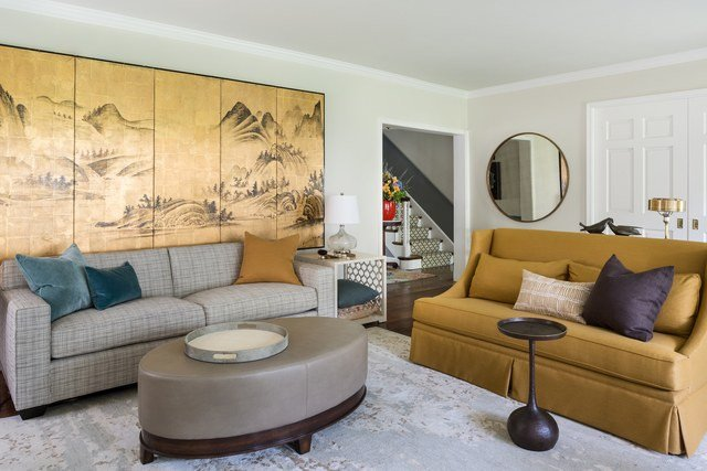 Cozy Comfortable Living Room Lovely A Living Room Gets A Cozy and fortable Makeover S