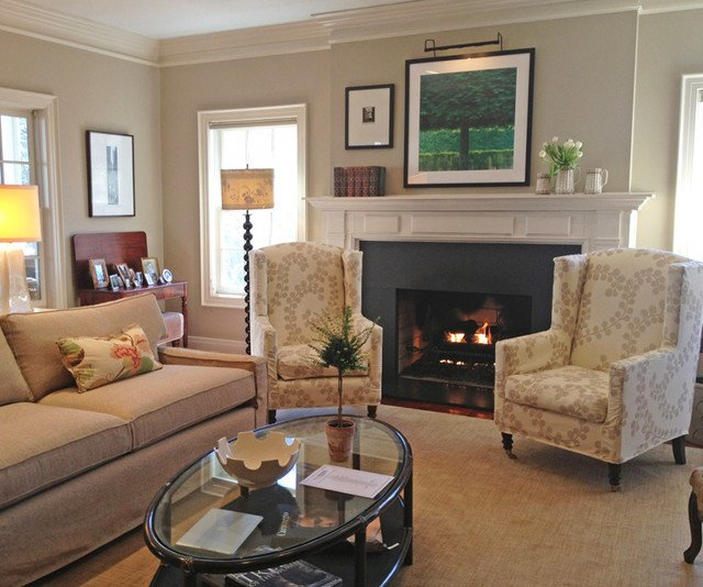 marvelous cozy living room traditional burlington smith | 35 Elegant Cozy Traditional Living Room | Findzhome