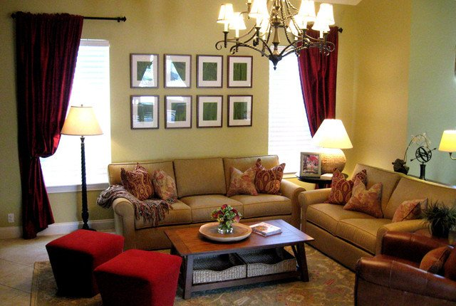 Cozy Traditional Living Room Awesome Cozy Family Room Traditional Living Room orlando by Dottie Mull Designs