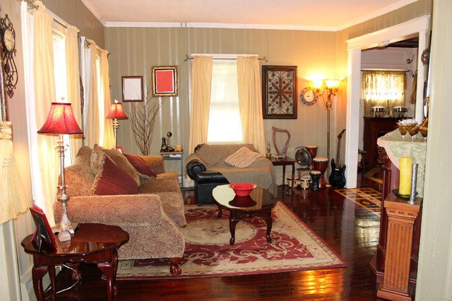 Cozy Traditional Living Room Awesome Cozy fort Traditional Living Room New York by Enchanted aspects Llc