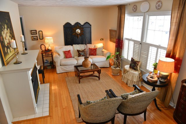 Cozy Traditional Living Room Beautiful fortable and Cozy Traditional Living Room Other Metro