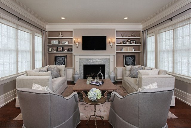 Cozy Traditional Living Room Best Of Elegant Cozy Living Room Traditional Living Room Detroit by Jane Spencer Designs