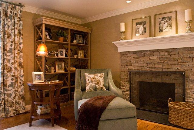 Cozy Traditional Living Room Luxury Cozy Family Living Room Traditional Living Room Boston by Studio C Interiors