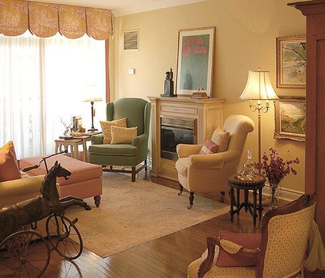 Cozy Traditional Living Room New Cozy Condo Traditional Living Room by Just the Thing