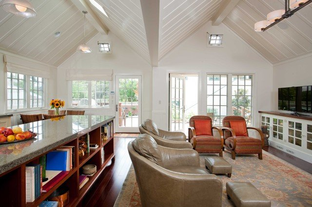 Cozy Traditional Living Room New Cozy Cottage Traditional Living Room Other Metro by Gatling Design