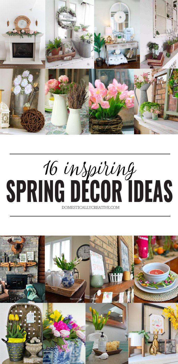 Creative Ideas for Home Decor New Inspiring Spring Home Decor Ideas