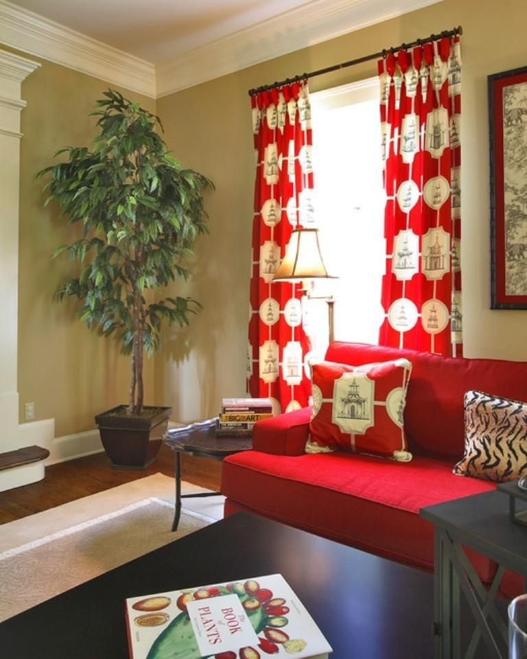 Curtain Ideasfor Living Room Inspirational 15 Lively and Colorful Curtain Ideas for the Living Room Rilane