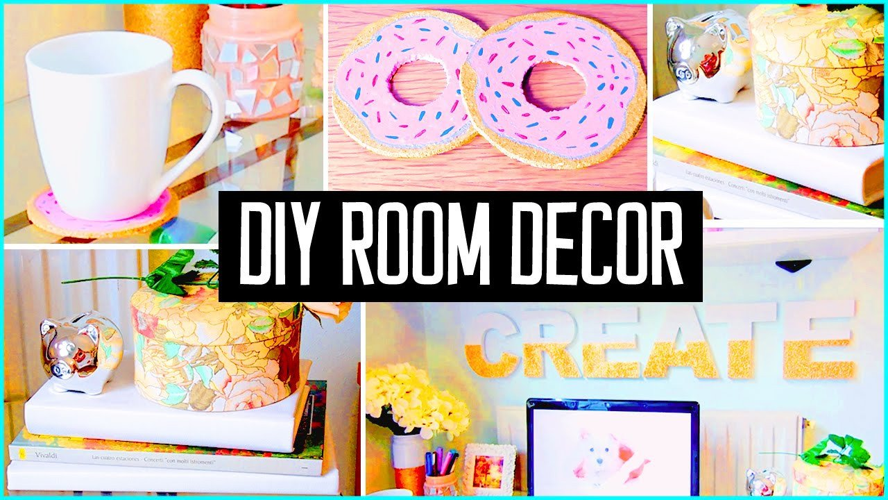 Cute Diy Room Decor Ideas Elegant Diy Room Decor Desk Decorations Cheap & Cute Projects