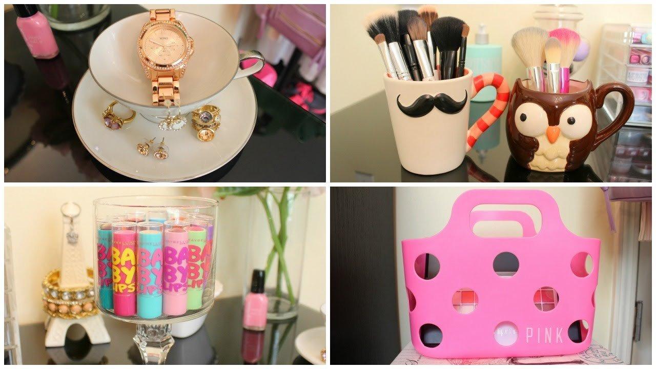 Cute Diy Room Decor Ideas Inspirational Storage & organization Ideas Diy Room Decor