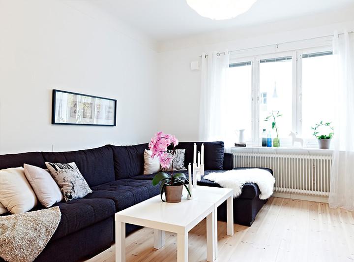 Small Cute Swedish Apartment Чудесен малък шведски апартамент – 79 ideas