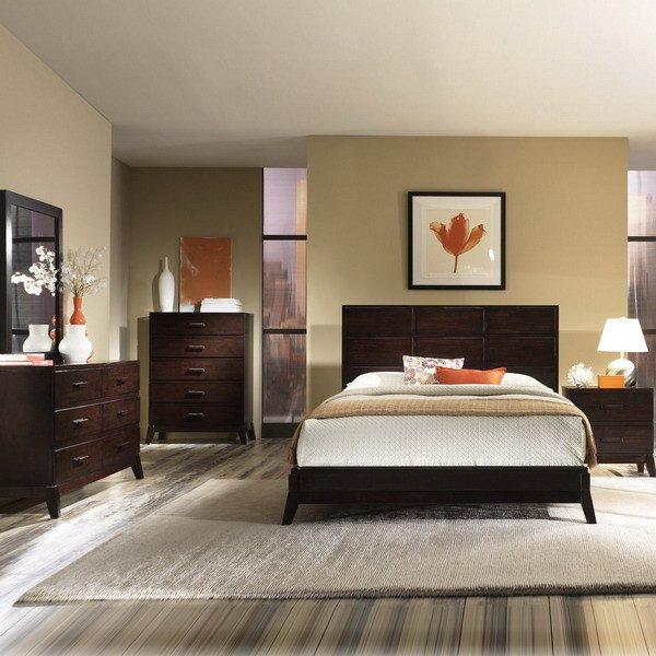 Dark Wood Bedroom Furniture Decor Beautiful 25 Dark Wood Bedroom Furniture Decorating Ideas