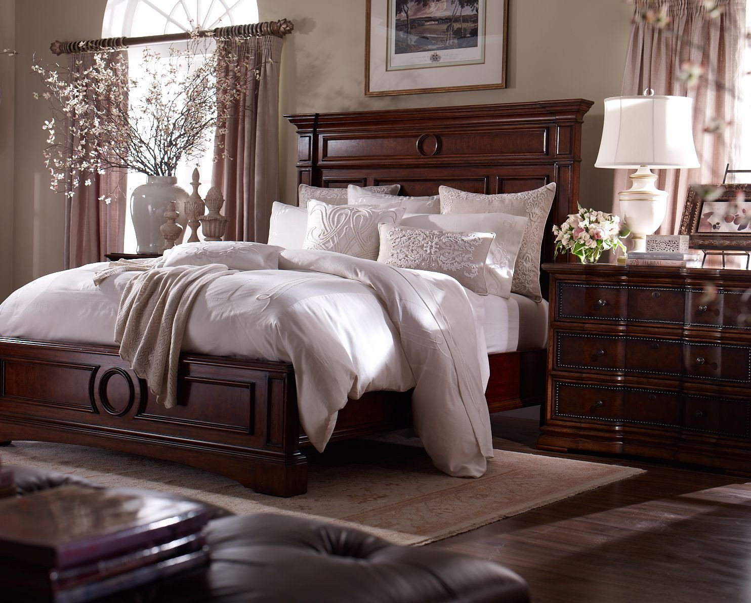 Dark Wood Bedroom Furniture Decor Inspirational A Stately Suite Master Suite Dreams Pinterest