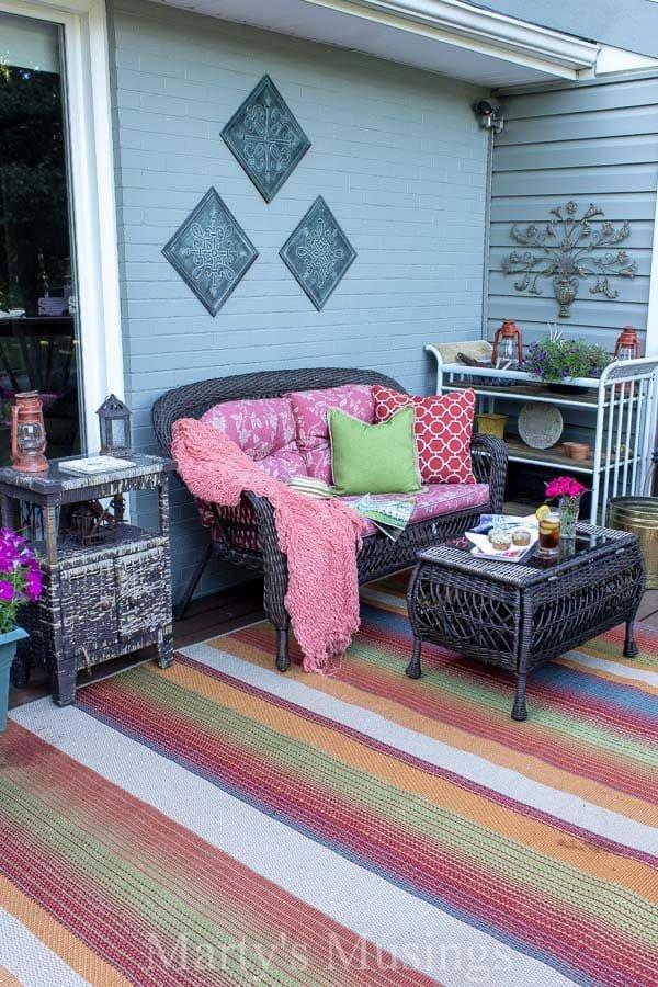 Deck Decor On A Budget Elegant Deck Decorating Ideas On A Bud