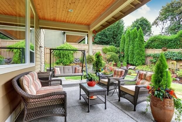 Deck Decor On A Budget Lovely Patio Decorating Ideas A Bud