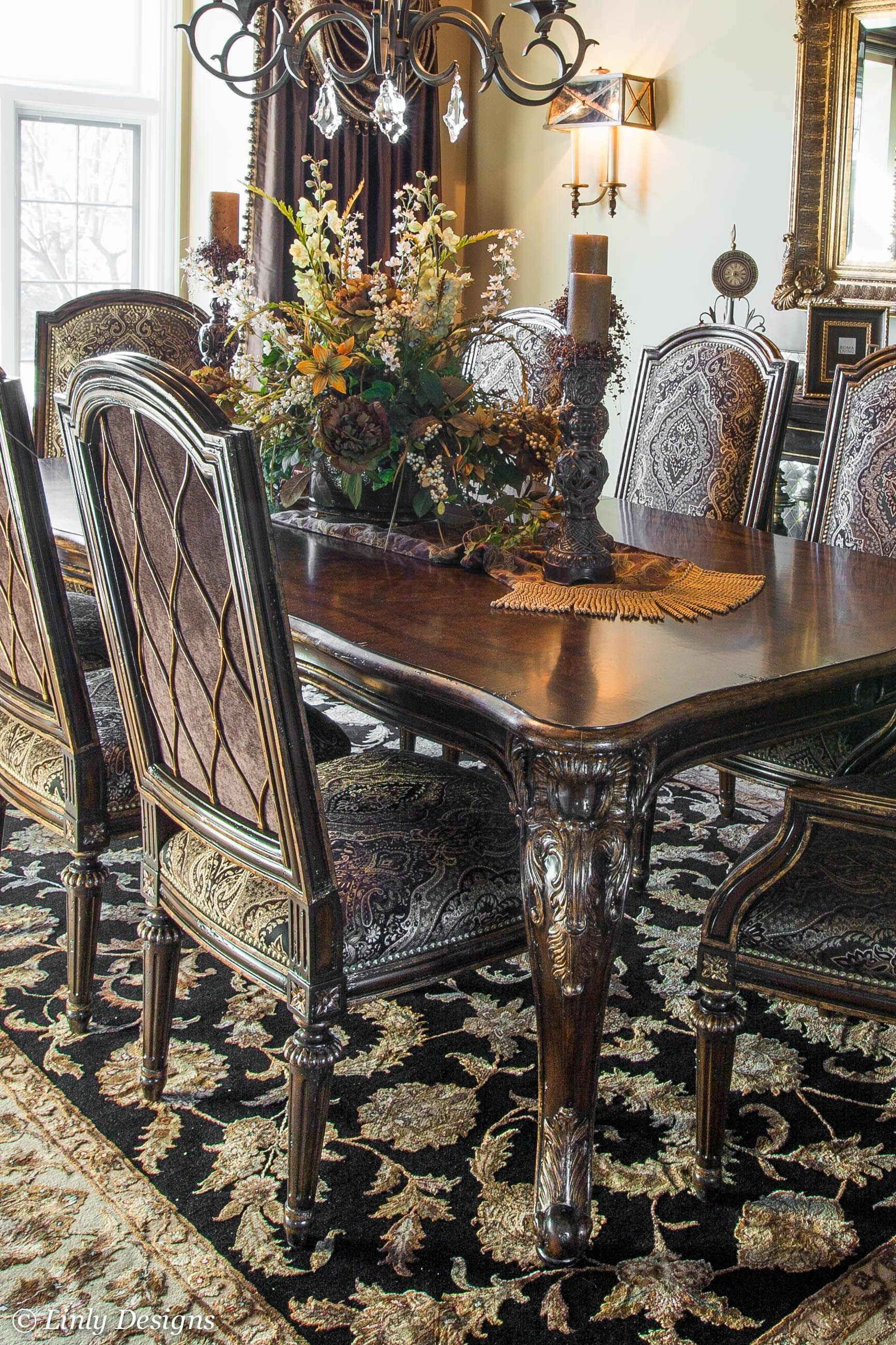 Decor for Dining Room Tables Best Of south Barrington Dining Room Project Home Decor