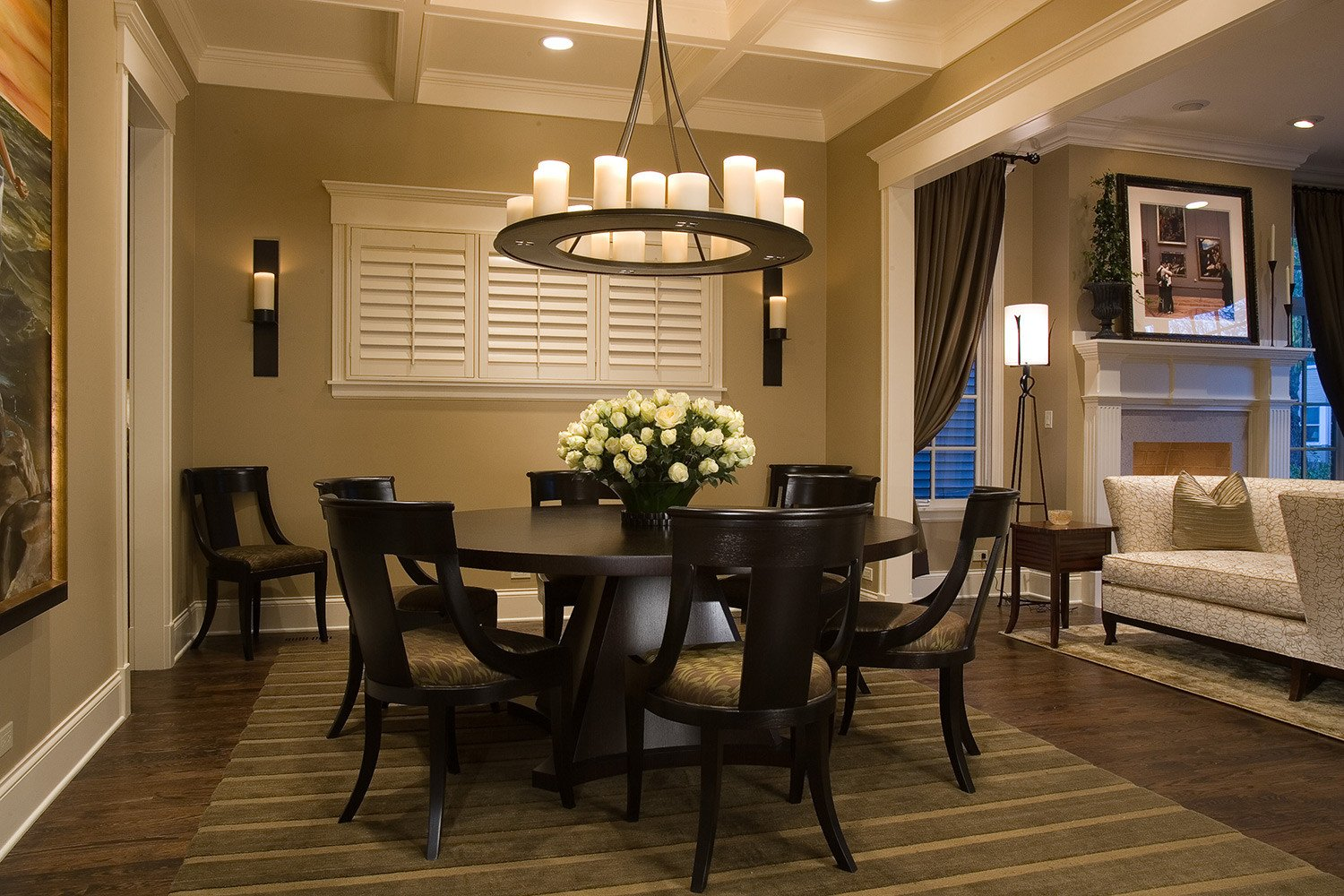 Decor for Dining Room Tables Inspirational Round Dining Table to Decorate Your Home