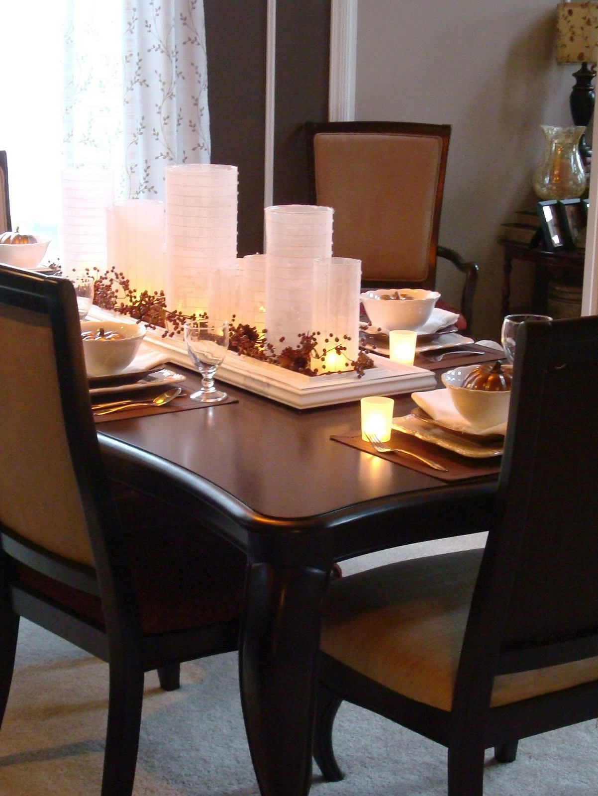 Decor for Dining Room Tables New Beautiful Centerpieces for Dining Room Tables