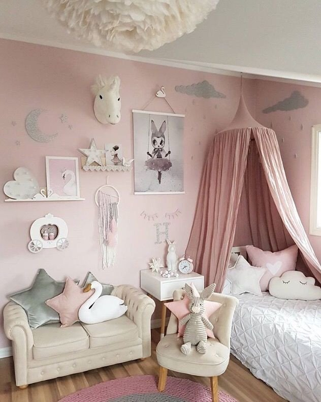 Decor for Little Girls Rooms Beautiful A Pretty Little Girl S Room is to Me Kidsroom