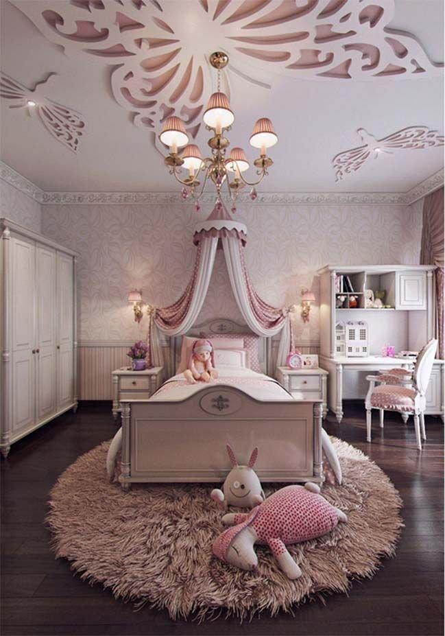 Decor for Little Girls Rooms Inspirational 57 Awesome Design Ideas for Your Bedroom