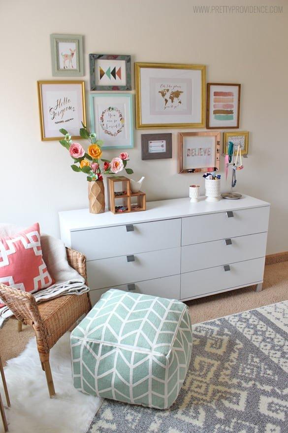 Decor for Little Girls Rooms Lovely Whimsical Eclectic Little Girls Room