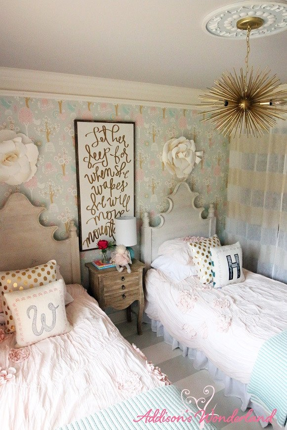 Decor for Little Girls Rooms Luxury Winnie S Little Girl Room Design Reveal Addison S Wonderland