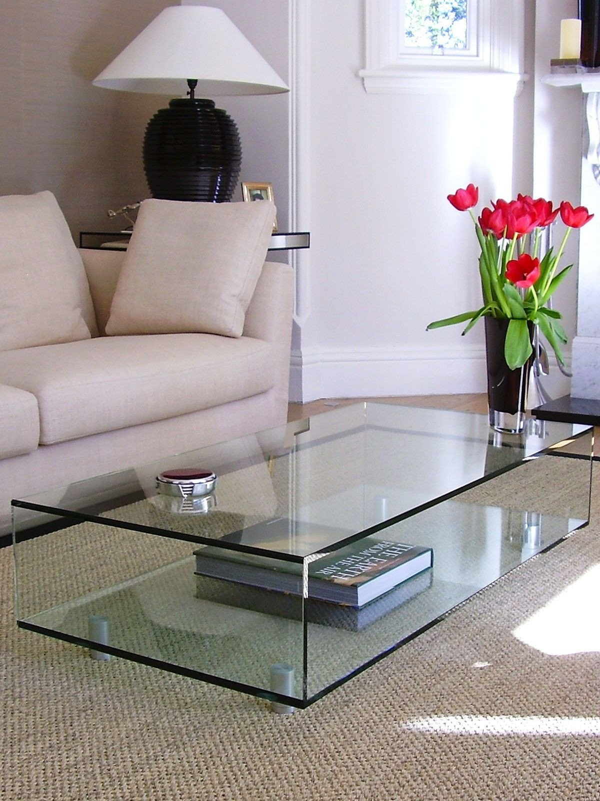 Decor for Living Room Tables Beautiful Rectangular Classic Coffee Table ⭐coffee Table⭐♦
