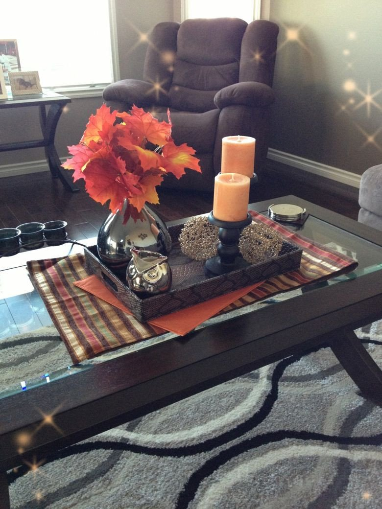 Decor for Living Room Tables Elegant Fall Decor for A Coffee Table Fall Decorating Pinterest