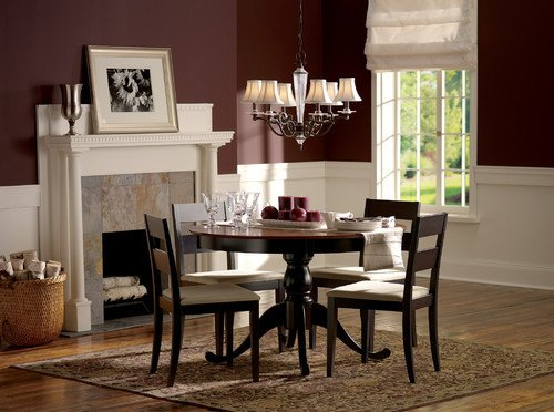 Decor for Living Room Wall Inspirational Color Of the Month Decorating with Burgundy Abode