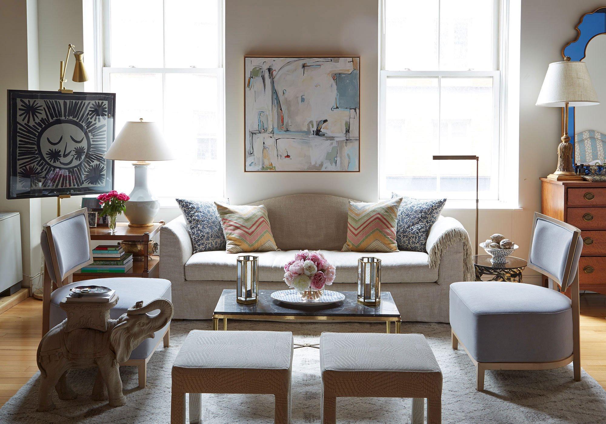 Decor for Small Living Room Best Of Manhattan Home Design