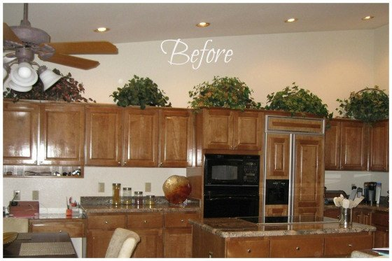Decor Ideas Above Kitchen Cabinets New How to Decorate Above Kitchen Cabinets Painted by Kayla Payne