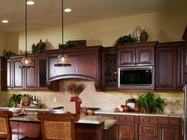 Decor Ideas Above Kitchen Cabinets Unique Ideas for Decorating Kitchen Cabinets