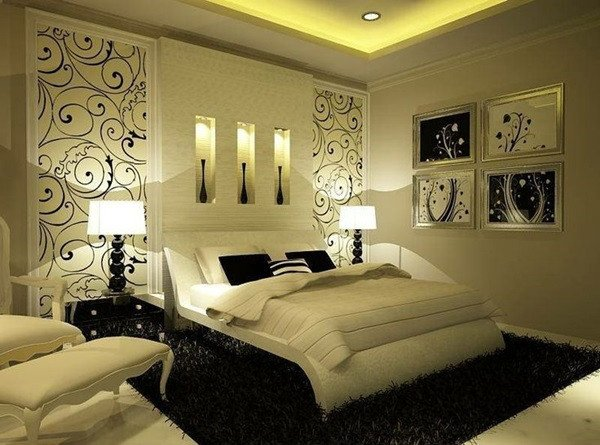 Decor Ideas for Bedroom Wall Awesome top 10 Beautiful Bedroom Wall Décor Ideas