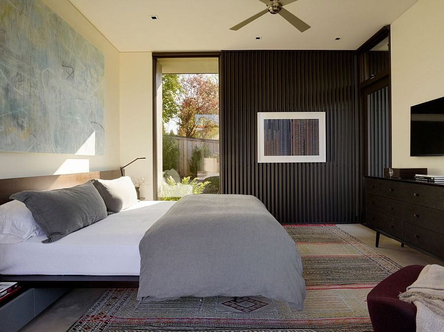 Decor Ideas for Bedroom Wall Inspirational Courtyard Residence Raw Industrial Elements Tamed by Modern Ergonomics