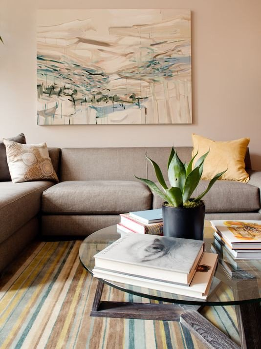 Decor Ideas for Coffee Tables Inspirational Decorating A Round Coffee Table Kelly Bernier Designs