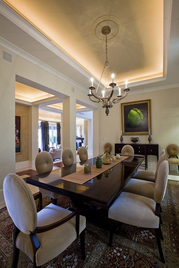 Decor Ideas for Dining Rooms New 40 Beautiful Modern Dining Room Ideas