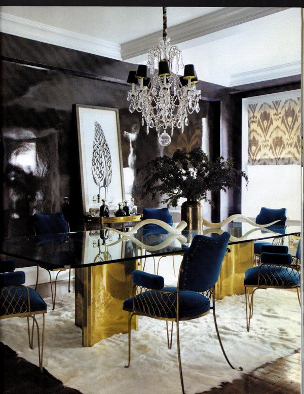 Decor Ideas for Dining Rooms Unique Dramatic Dining Room Design Ideas
