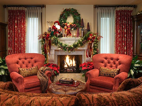 Decor Ideas for Family Room Elegant Decorating for Christmas Old World Style – orange County Register