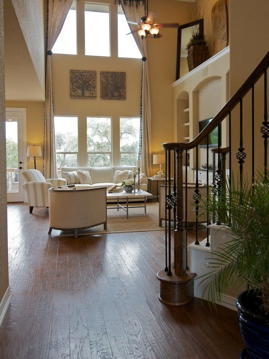 Decor Ideas for Family Room Unique Two Story Windows Home Design Ideas Remodel and Decor
