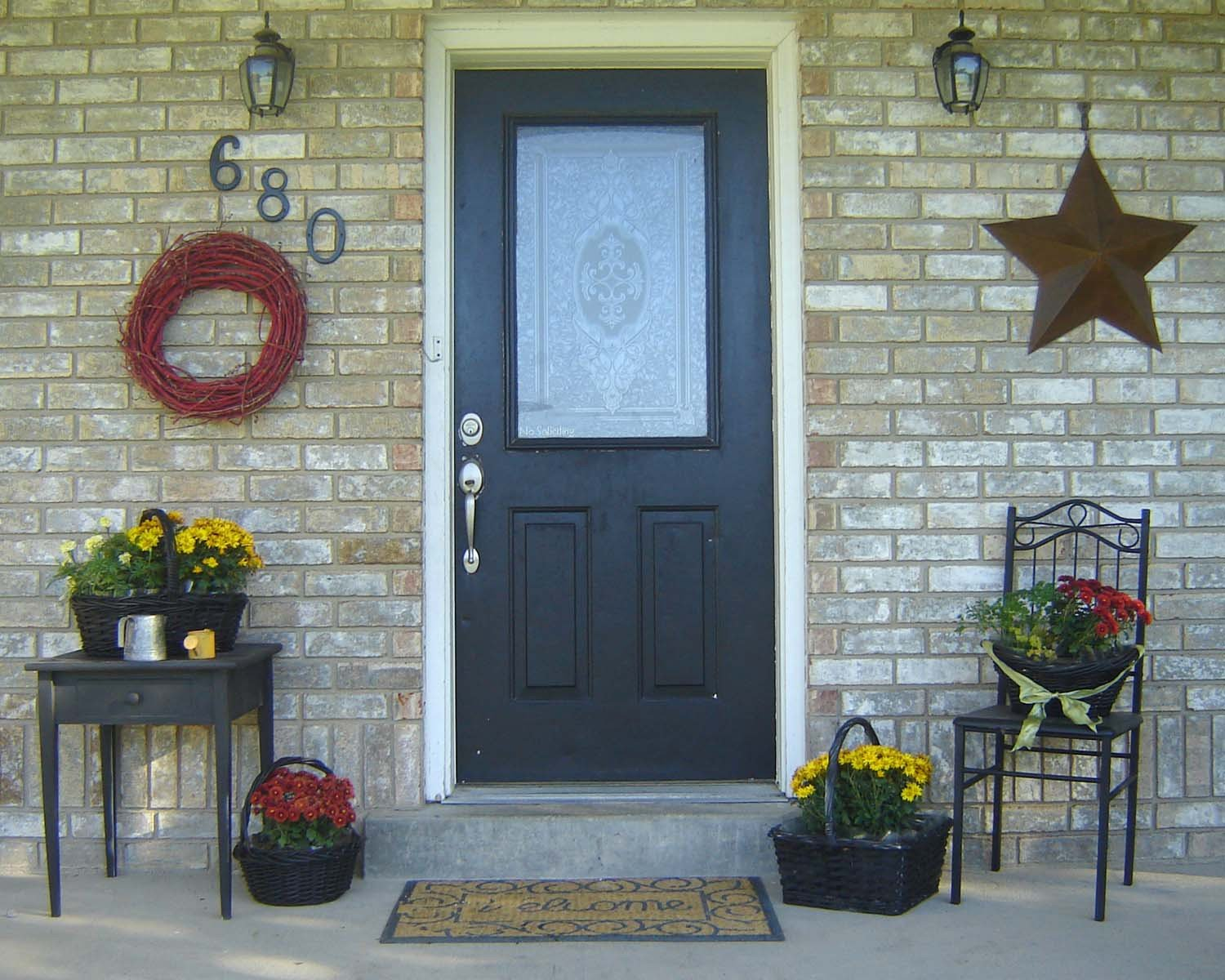 Decor Ideas for Front Porch Awesome Inexpensive Simple Front Porch Ideas From Home Hinges