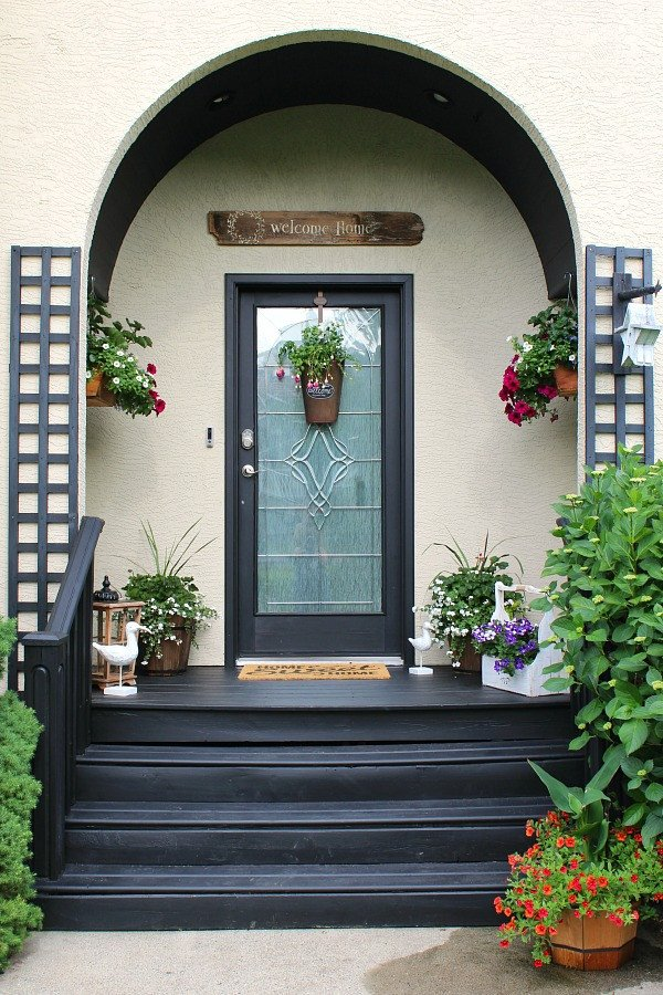 Decor Ideas for Front Porch Awesome Summer Front Porch Decorating Ideas Clean and Scentsible