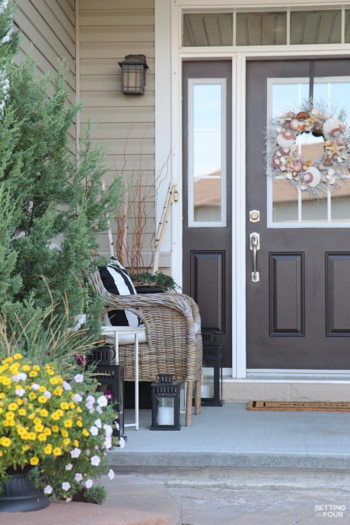 Decor Ideas for Front Porch Beautiful Decorating with Lanterns Outdoor and Indoor Ideas