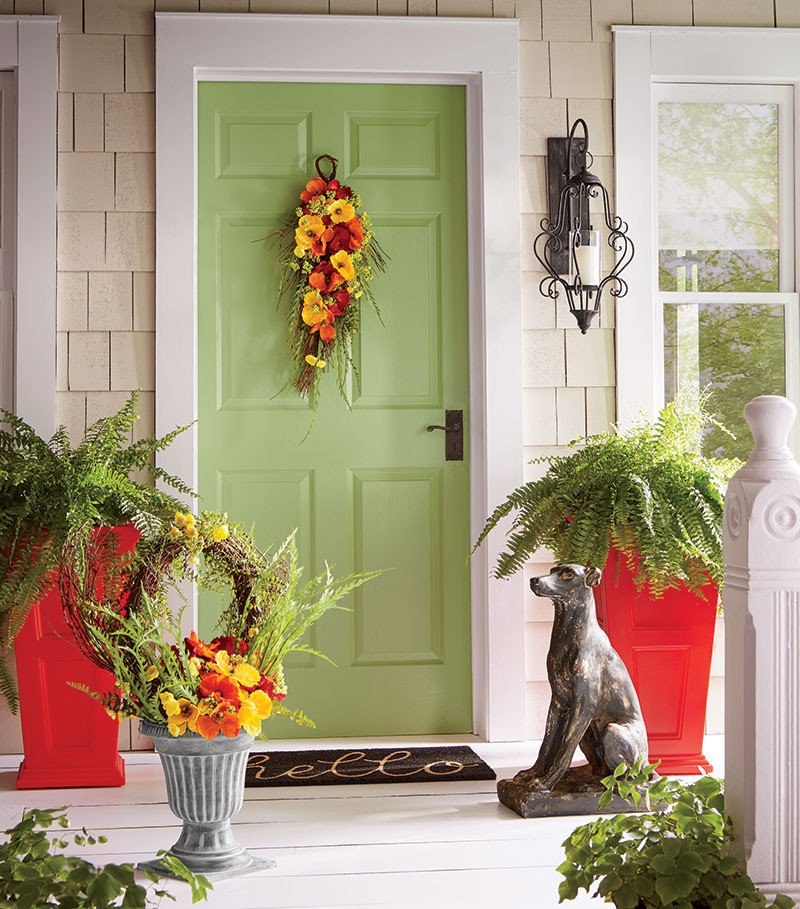 Decor Ideas for Front Porch Elegant Warm and Wel Ing Front Porch Decorating Ideas