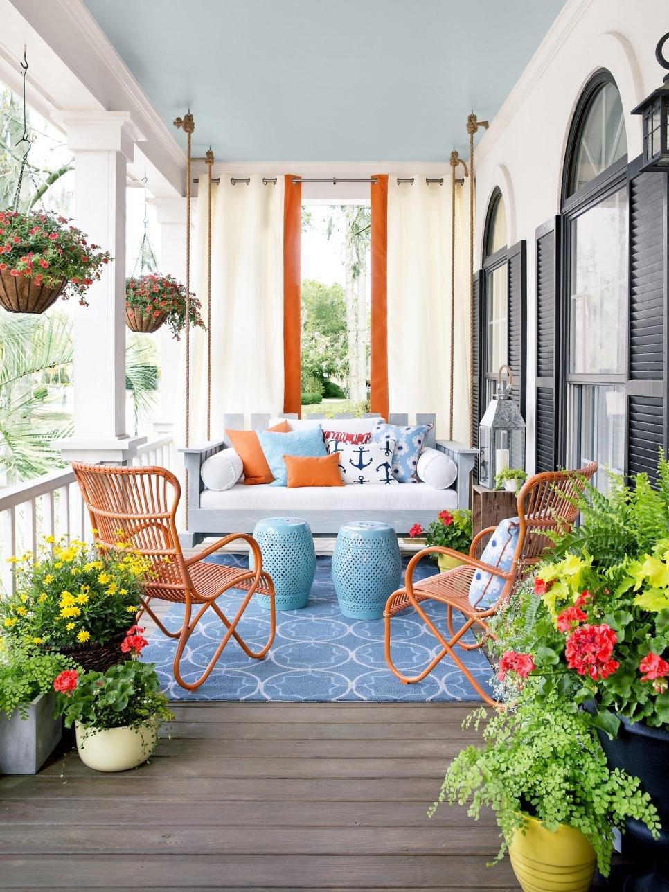 Decor Ideas for Front Porch Fresh Porch Design and Decorating Ideas