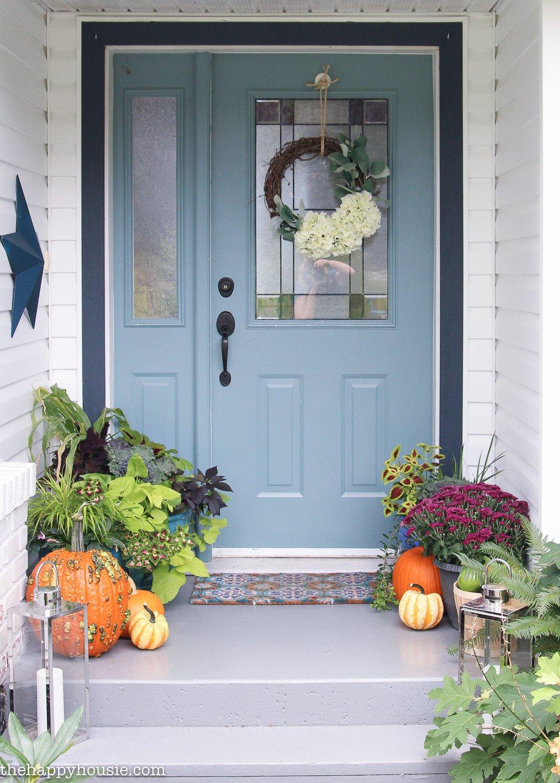 Decor Ideas for Front Porch Inspirational Easy & Vibrant Fall Front Porch Decor